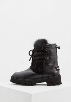 Ботинки, Baldinini, цвет: черный. Артикул: BA097AWCEGM0. Обувь