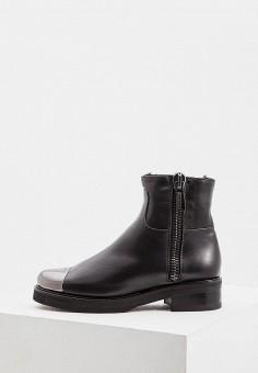 Полусапоги, Baldinini, цвет: черный. Артикул: BA097AWCEGM7. Обувь