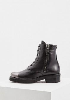Ботинки, Baldinini, цвет: черный. Артикул: BA097AWCEGM8. Обувь