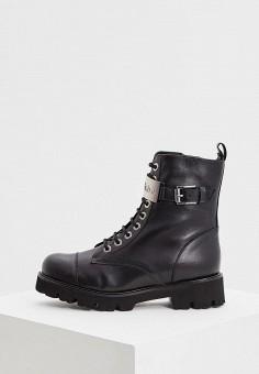Ботинки, Baldinini, цвет: черный. Артикул: BA097AWCEGM9. Обувь