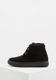 Ботинки, Baldinini, цвет: черный. Артикул: BA097AWCEGO3. Обувь