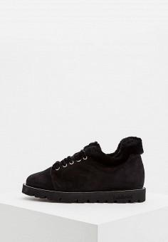 Ботинки, Baldinini, цвет: черный. Артикул: BA097AWCEGO7. Обувь