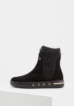 Слипоны, Baldinini, цвет: черный. Артикул: BA097AWCEGP9. Обувь