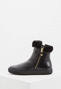 Ботинки, Baldinini, цвет: черный. Артикул: BA097AWCEGQ1. Обувь