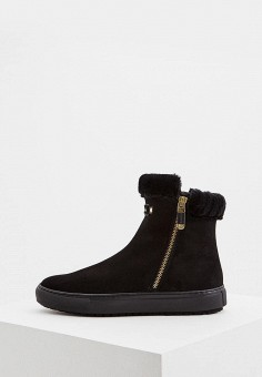 Слипоны, Baldinini, цвет: черный. Артикул: BA097AWCEGQ2. Обувь
