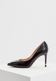 Туфли, Baldinini, цвет: черный. Артикул: BA097AWCEGR5. Обувь