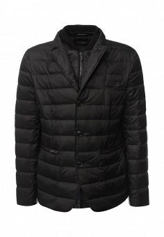 Пуховик, Baldinini, цвет: черный. Артикул: BA097EMVJB31. Премиум / Одежда / Верхняя одежда / Пуховики