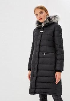 Пуховик, Baldinini, цвет: черный. Артикул: BA097EWCEGU5. Одежда / Верхняя одежда / Зимние куртки