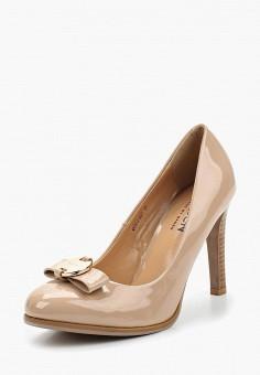 Туфли, Baden, цвет: бежевый. Артикул: BA993AWAGZL2. Обувь / Туфли / Закрытые туфли