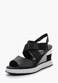 Босоножки, Baden, цвет: черный. Артикул: BA993AWAGZL7. Обувь