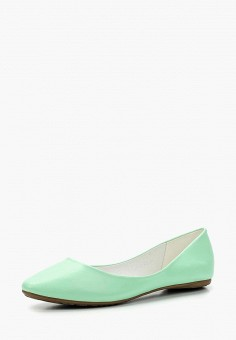 Балетки, Betsy, цвет: зеленый. Артикул: BE006AWAPVM2. Обувь / Балетки