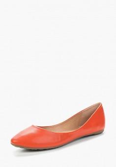 Балетки, Betsy, цвет: оранжевый. Артикул: BE006AWAPVM3. Обувь / Балетки