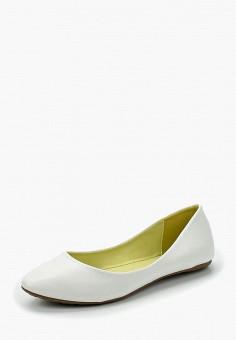 Балетки, Betsy, цвет: белый. Артикул: BE006AWAPVM6. Обувь / Балетки