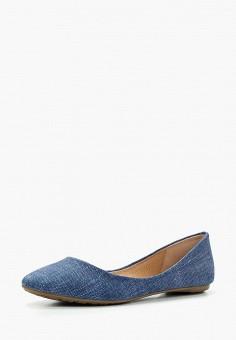 Балетки, Betsy, цвет: синий. Артикул: BE006AWAPVM7. Обувь / Балетки