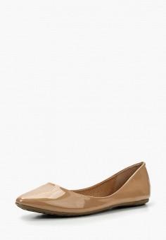 Балетки, Betsy, цвет: бежевый. Артикул: BE006AWAPVM8. Обувь / Балетки
