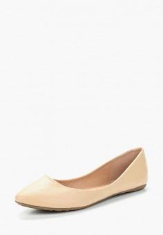 Балетки, Betsy, цвет: бежевый. Артикул: BE006AWAPVN3. Обувь / Балетки