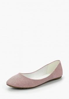 Балетки, Betsy, цвет: розовый. Артикул: BE006AWAPVN5. Обувь / Балетки