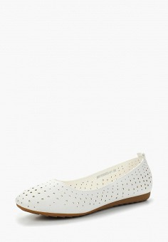 Балетки, Betsy, цвет: белый. Артикул: BE006AWAPVZ5. Обувь / Балетки
