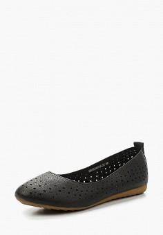 Балетки, Betsy, цвет: черный. Артикул: BE006AWAPVZ6. Обувь / Балетки