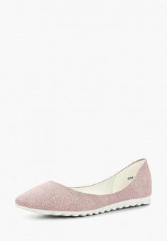 Балетки, Betsy, цвет: розовый. Артикул: BE006AWAPWM0. Обувь / Балетки