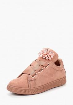 Кеды, Befree, цвет: розовый. Артикул: BE031AWBWXY1. Обувь