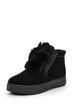 Кеды, Befree, цвет: черный. Артикул: BE031AWYNV32. Обувь / Кроссовки и кеды