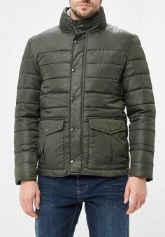 Куртка утепленная, Befree, цвет: хаки. Артикул: BE031EMBVVP2. Одежда / Верхняя одежда / Демисезонные куртки
