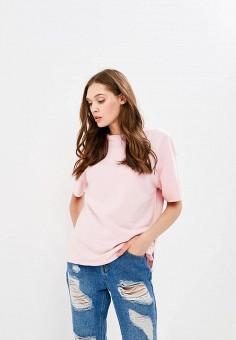 Свитшот, Befree, цвет: розовый. Артикул: BE031EWBXHS2. Одежда / Толстовки и свитшоты