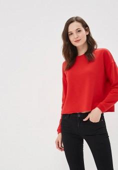 Свитшот, Befree, цвет: красный. Артикул: BE031EWBXHV4. Одежда / Толстовки и свитшоты