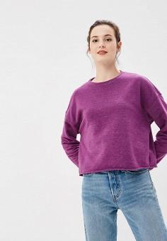 Свитшот, Befree, цвет: фиолетовый. Артикул: BE031EWBXHV5. Одежда / Толстовки и свитшоты