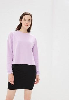 Свитшот, Befree, цвет: фиолетовый. Артикул: BE031EWBXHV6. Одежда / Толстовки и свитшоты