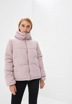 Куртка утепленная, Befree, цвет: розовый. Артикул: BE031EWBXHW0. Одежда / Верхняя одежда / Демисезонные куртки