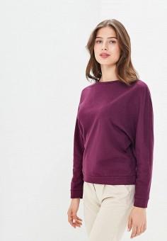 Свитшот, Befree, цвет: фиолетовый. Артикул: BE031EWBXID7. Одежда / Толстовки и свитшоты