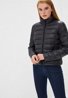Куртка утепленная, Befree, цвет: черный. Артикул: BE031EWBXIO0. Одежда / Верхняя одежда / Демисезонные куртки