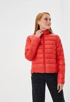 Куртка утепленная, Befree, цвет: красный. Артикул: BE031EWBXIO1. Одежда / Верхняя одежда / Демисезонные куртки