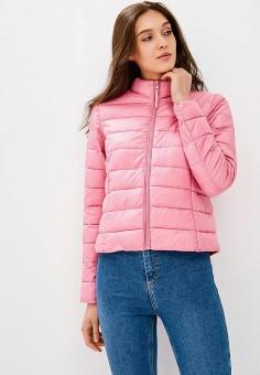 Куртка утепленная, Befree, цвет: розовый. Артикул: BE031EWBXIO3. Одежда / Верхняя одежда / Демисезонные куртки
