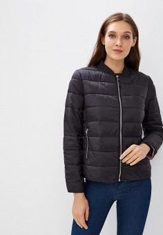 Куртка утепленная, Befree, цвет: черный. Артикул: BE031EWBXIO5. Одежда / Верхняя одежда / Демисезонные куртки