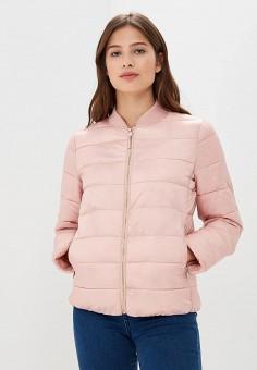 Куртка утепленная, Befree, цвет: розовый. Артикул: BE031EWBXIO7. Одежда / Верхняя одежда / Демисезонные куртки