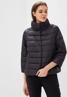 Куртка утепленная, Befree, цвет: черный. Артикул: BE031EWBXIO8. Одежда / Верхняя одежда / Демисезонные куртки