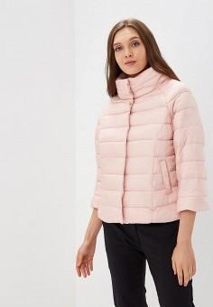 Куртка утепленная, Befree, цвет: розовый. Артикул: BE031EWBXIO9. Одежда / Верхняя одежда / Демисезонные куртки