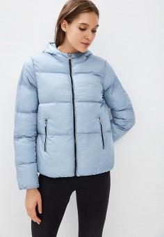Пуховик, Befree, цвет: голубой. Артикул: BE031EWBXIP0. Одежда / Верхняя одежда / Зимние куртки