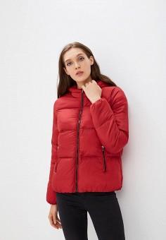 Пуховик, Befree, цвет: красный. Артикул: BE031EWBXIP2. Одежда / Верхняя одежда / Зимние куртки