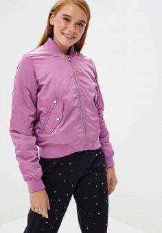 Куртка утепленная, Befree, цвет: розовый. Артикул: BE031EWBXIP7. Одежда / Верхняя одежда / Демисезонные куртки