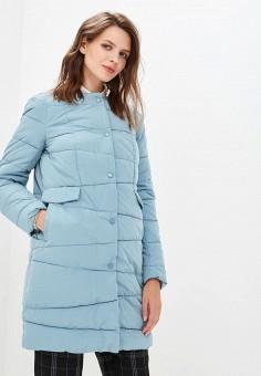 Куртка утепленная, Befree, цвет: бирюзовый. Артикул: BE031EWBXIR3. Одежда / Верхняя одежда / Демисезонные куртки