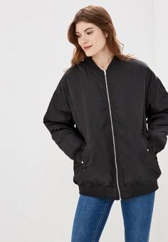 Куртка, Befree, цвет: черный. Артикул: BE031EWBXIR7. Одежда / Верхняя одежда / Демисезонные куртки