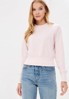 Свитшот, Befree, цвет: розовый. Артикул: BE031EWBXJY0. Одежда / Толстовки и свитшоты