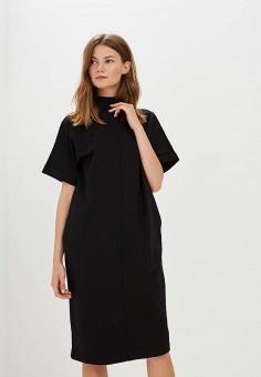 Платье, Befree, цвет: черный. Артикул: BE031EWBXJY3. Одежда / Платья и сарафаны