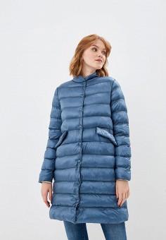 Куртка утепленная, Befree, цвет: синий. Артикул: BE031EWBXKR8. Одежда / Верхняя одежда / Демисезонные куртки