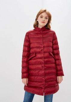 Куртка утепленная, Befree, цвет: бордовый. Артикул: BE031EWBXKS1. Одежда / Верхняя одежда / Демисезонные куртки