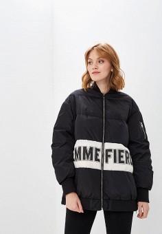 Куртка утепленная, Befree, цвет: черный. Артикул: BE031EWBXKS6. Одежда / Верхняя одежда / Демисезонные куртки